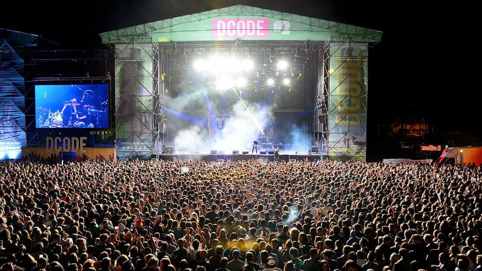 El escenario principal de DCODE vibra con las actuaciones estelares del festival. Foto: DCODE