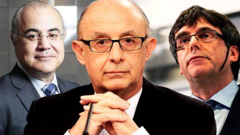 Cristóbal Montoro, Carles Puigdemont y Pablo Llarena | Noticias de última hora.