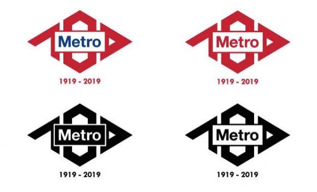 El Metro de Madrid elige el logo para celebrar su centenario entre más de 1.500 propuestas