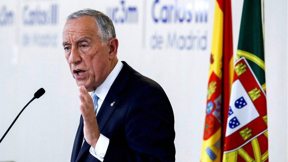 Marcelo Rebelo de Sousa, presidente de Portugal. (EFE)