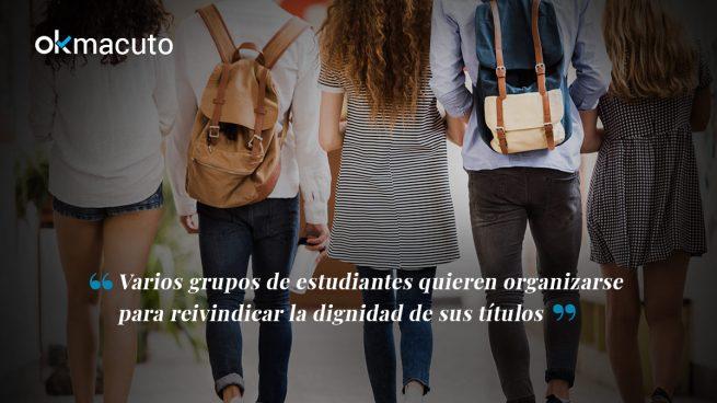 Los 'verdaderos' estudiantes de la Rey Juan Carlos se hartan de los másters falsos