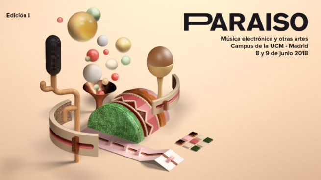 Paraíso Festival 2018 en la Universidad Complutense de Madrid (UCM) en junio