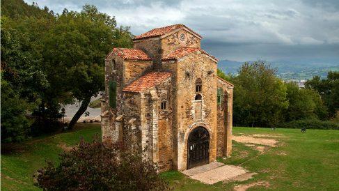 La iglesia de San Miguel de Lillo, en Oviedo.