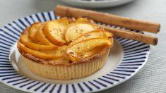 Receta de Tarta de melocotón fácil y rápida de preparar
