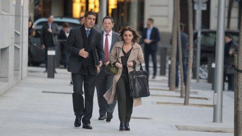 Josep Lluis Trapero, a su llegada a la Audiencia Nacional. Foto: FRANCISCO TOLEDO