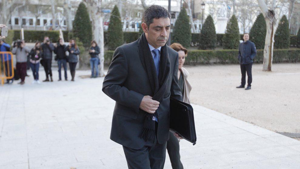 Josep Lluís Trapero, a su llegada a la Audiencia Nacional en una imagen de archivo. Foto: FRANCISCO TOLEDO