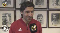 Raúl González Blanco ha comenzado el curso de entrenadores junto a otros ilustres ex futbolistas.