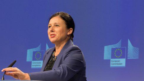 Vera Jourová, comisaria europea de Justicia.
