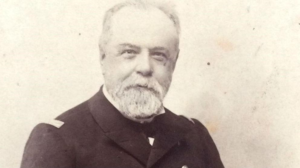 Retrato del almirante Pascual Cervera y Topete