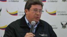 El ministro del Interior de Ecuador, César Navas