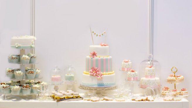 mesas dulces para comunión