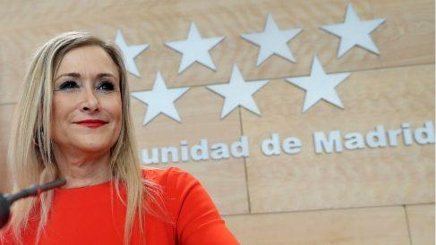 Cristina Cifuentes, presidenta de la Comunidad de Madrid. (EFE)