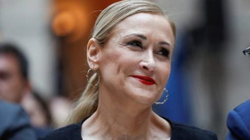 La expresidenta del PP de Madrid Cristina Cifuentes. (Foto: EFE)