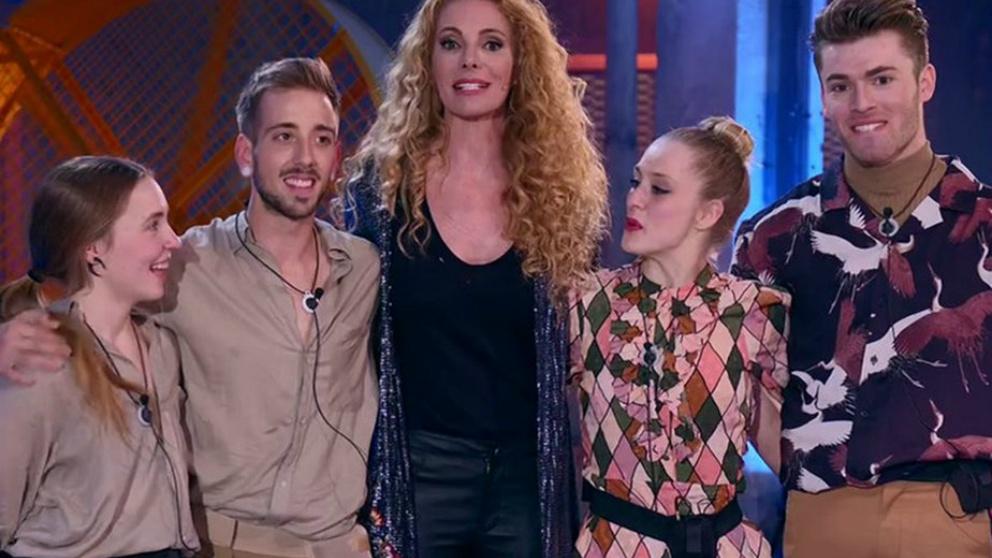 Ester y Pablo son los inmunes de la semana en 'Fama a bailar'.