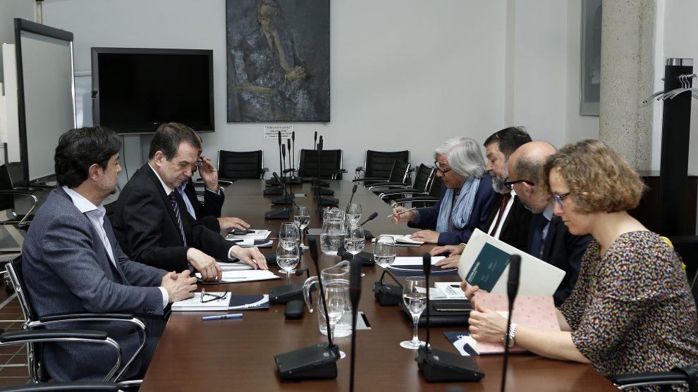La reunión mantenida esta mañana entre FEMP y OSUR.