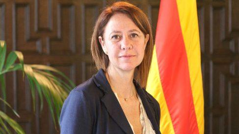 Marta Madrenas, alcaldesa de Gerona.