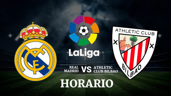 Real madrid athletic bilbao horario y ver en directo la for Futbol real madrid hoy
