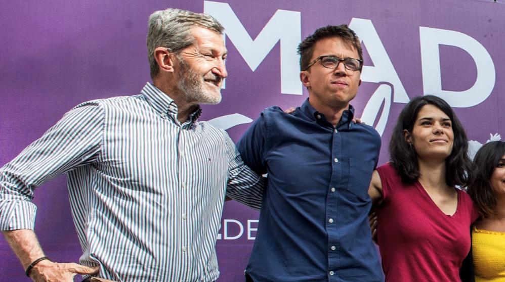 Julio Rodríguez e Íñigo Errejón. (Foto. Podemos)