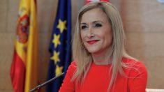 La presidenta autonómica Cristina Cifuentes, este martes. (Foto. Comunidad)
