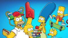 Serie de televisión 'The Simpsons'.