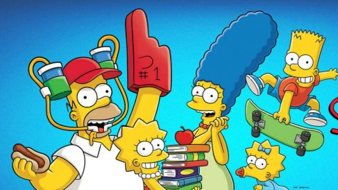 Serie de televisión 'The Simpsons'.