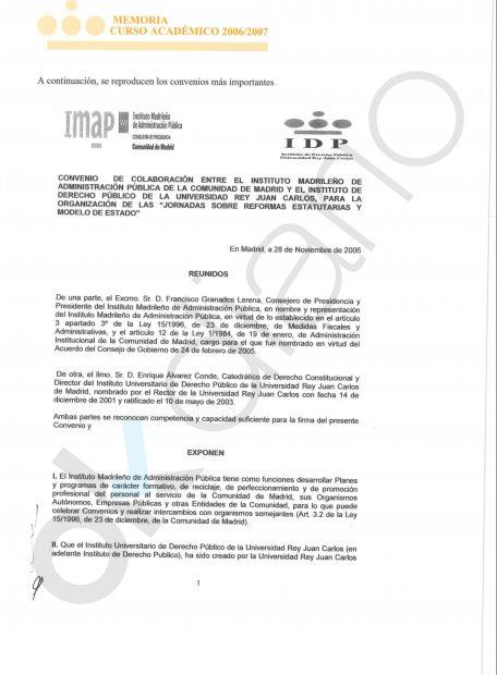El chollo del director del máster: 30.000 € por un curso exprés a empleados de la Comunidad