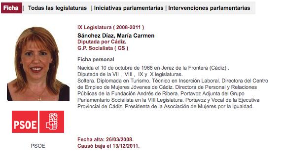 La alcaldesa de Jerez borra su currículum y el de sus ediles tras publicarse que mintió