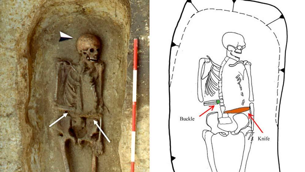 Un hallazgo con más de quince siglos de antigüedad