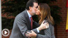 Mariano Rajoy y Susana Díaz, en Moncloa. (EFE)