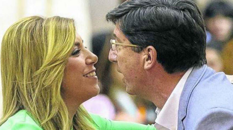 Susana Díaz y Juan Marín (Foto:Twitter)