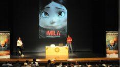 Una de las presentaciones en una edición pasada de Animayo Gran Canaria