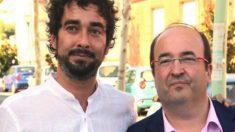 El diputado Carles Castillo y el líder del PSC Miquel Iceta (Foto: Twitter)