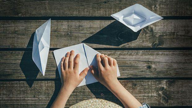 Cómo hacer barcos de papel de manera fácil