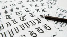 Aprende a hacer letras góticas de forma fácil