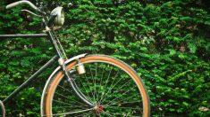 Un hombre atraca un banco y huye en bicicleta.
