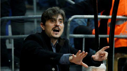 Dimitris Giannakopoulos, presidente del Panathinaikos. (Getty)