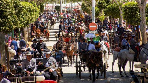 Feria de Abril de Sevilla 2018. (Foto: EFE)