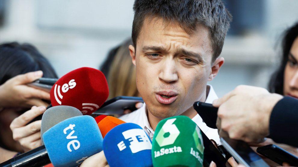 Íñigo Errejón. (Foto: EFE)