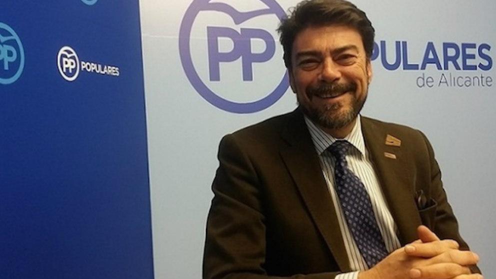 Luis Barcala, el alcalde de Alicante