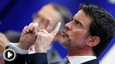 El ex primer ministro francés, Manuel Valls, en el Foro Líderes. (EFE)