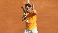 Rafa Nadal celebra la victoria en Montecarlo. (AFP)