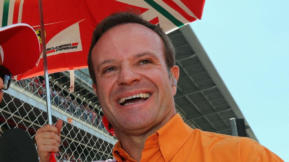 Rubens Barrichello ha sido intervenido para extirparle un tumor benigno que, afortunadamente, no le ha dejado ninguna secuela física. (Getty)