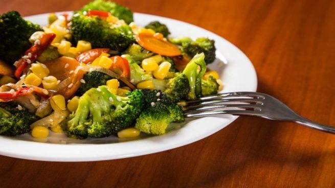 Salteado De Verduras Y Brócoli