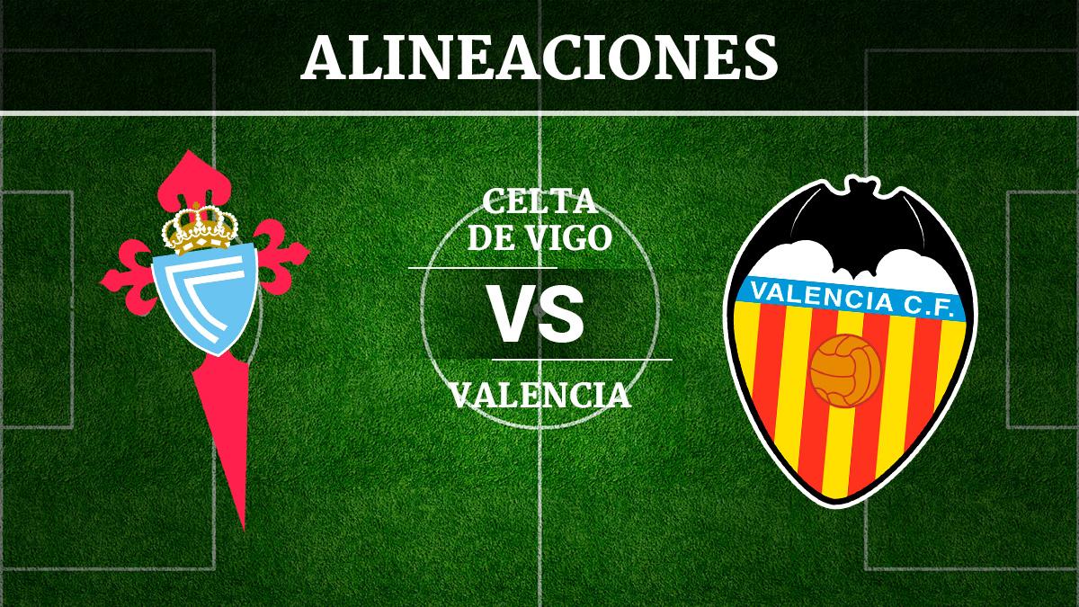 Consulta las posibles alineaciones del Celta de Vigo vs Valencia.