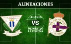 Leganés vs Deportivo de la Coruña