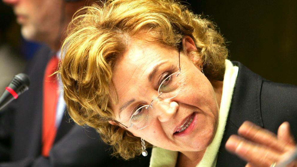 Carmen Caffarel en una imagen de 2005 (Foto: AFP).
