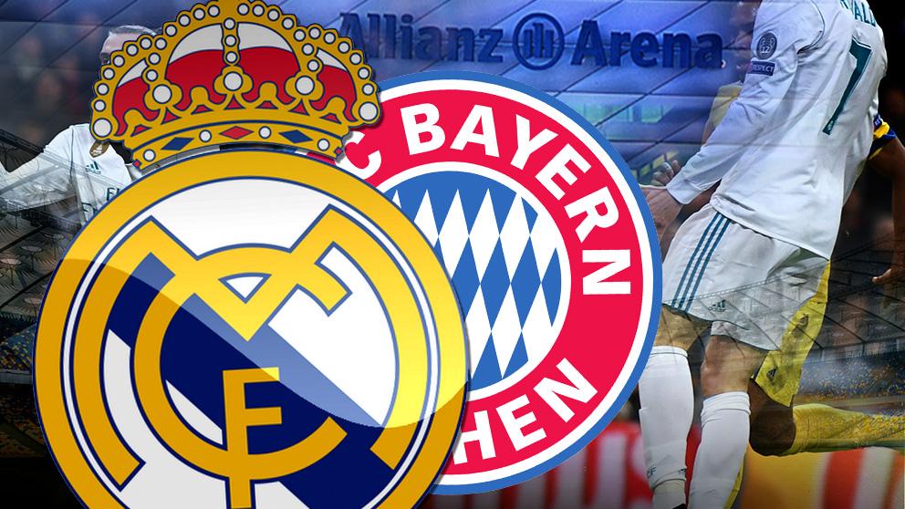 El Bayern de Múnich prepara una encerrona contra el Real Madrid.