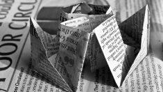 Diferentes ideas para hacer manualidades con papel de periódico fáciles.
