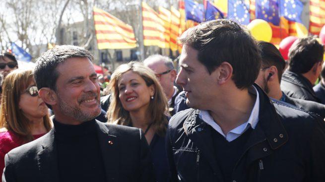 Manuel Valls Albert Rivera