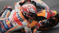 Tras los entrenamientos libres del Gran Premio de las Américas de MotoGP, Marc Márquez es el candidato a la victoria. (Getty)